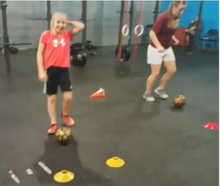 Soccer buddy training